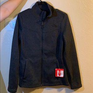 North face dark grey jacket